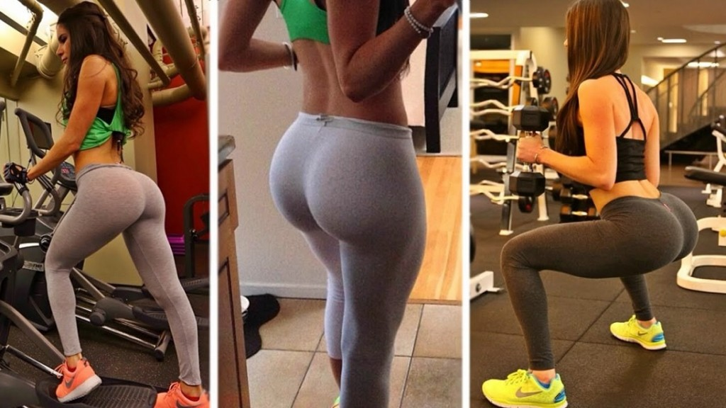Squat to make your bum look bigger