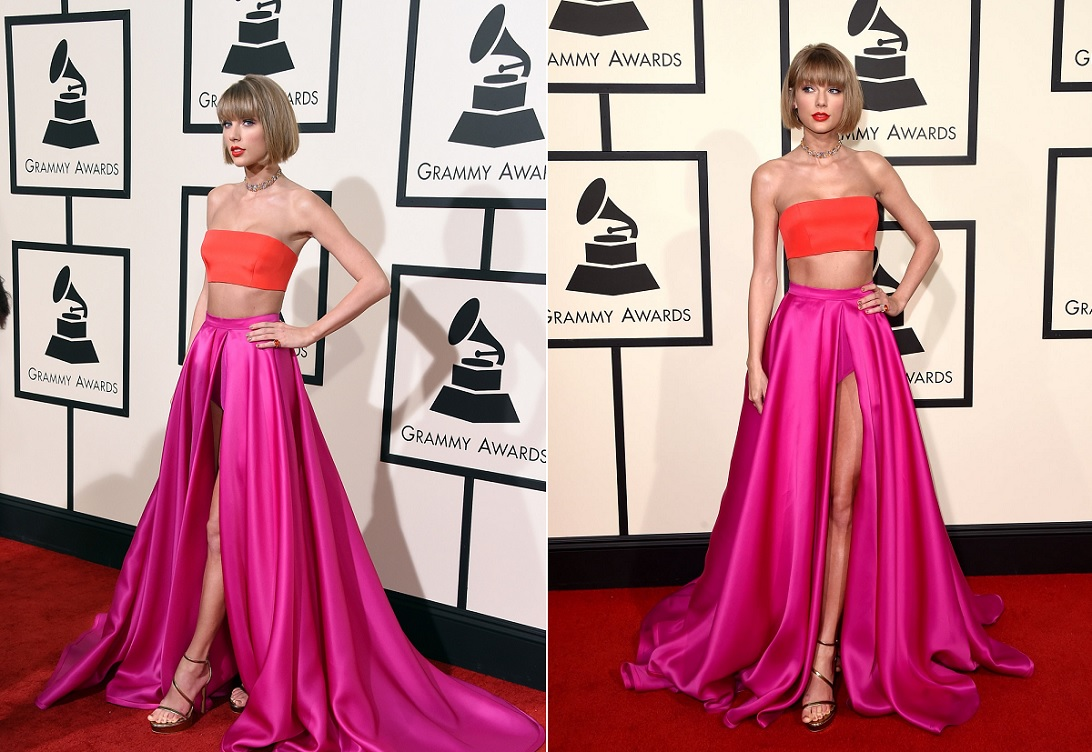Taylor Swift Best Dressed Celebrities At Grammy 2016