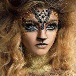 Tiger Pretty Halloween MakeUp Look