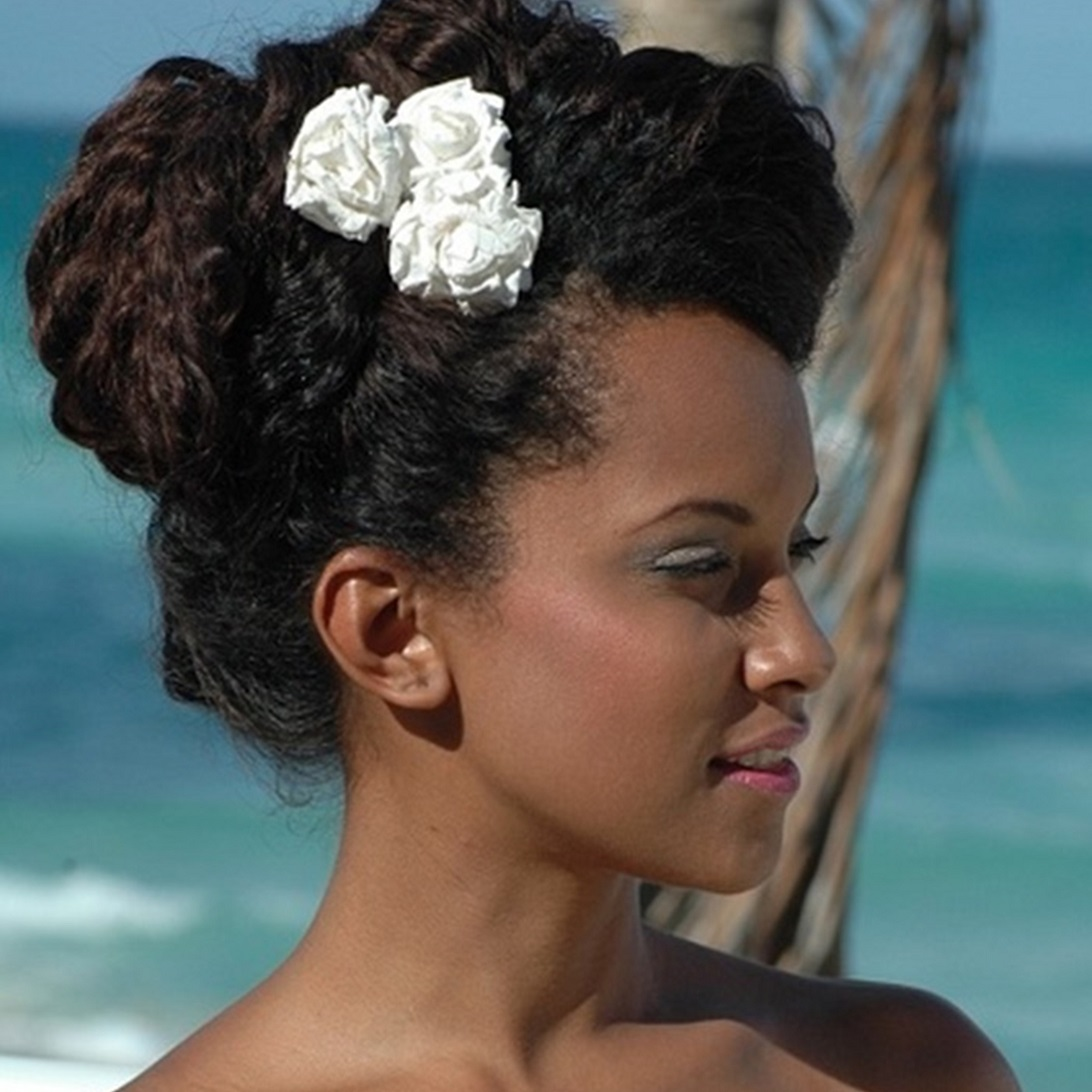 Tropical Bride Hair