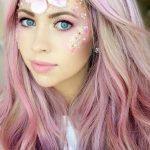 Unicorn Pretty Halloween MakeUp Look