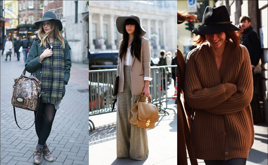 Wide Hat Winter Wardrobe