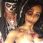 Zombie Pair Halloween MakeUp Looks