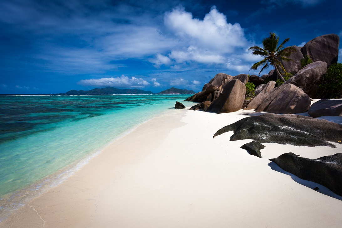 La Digue Seychelles beaches images