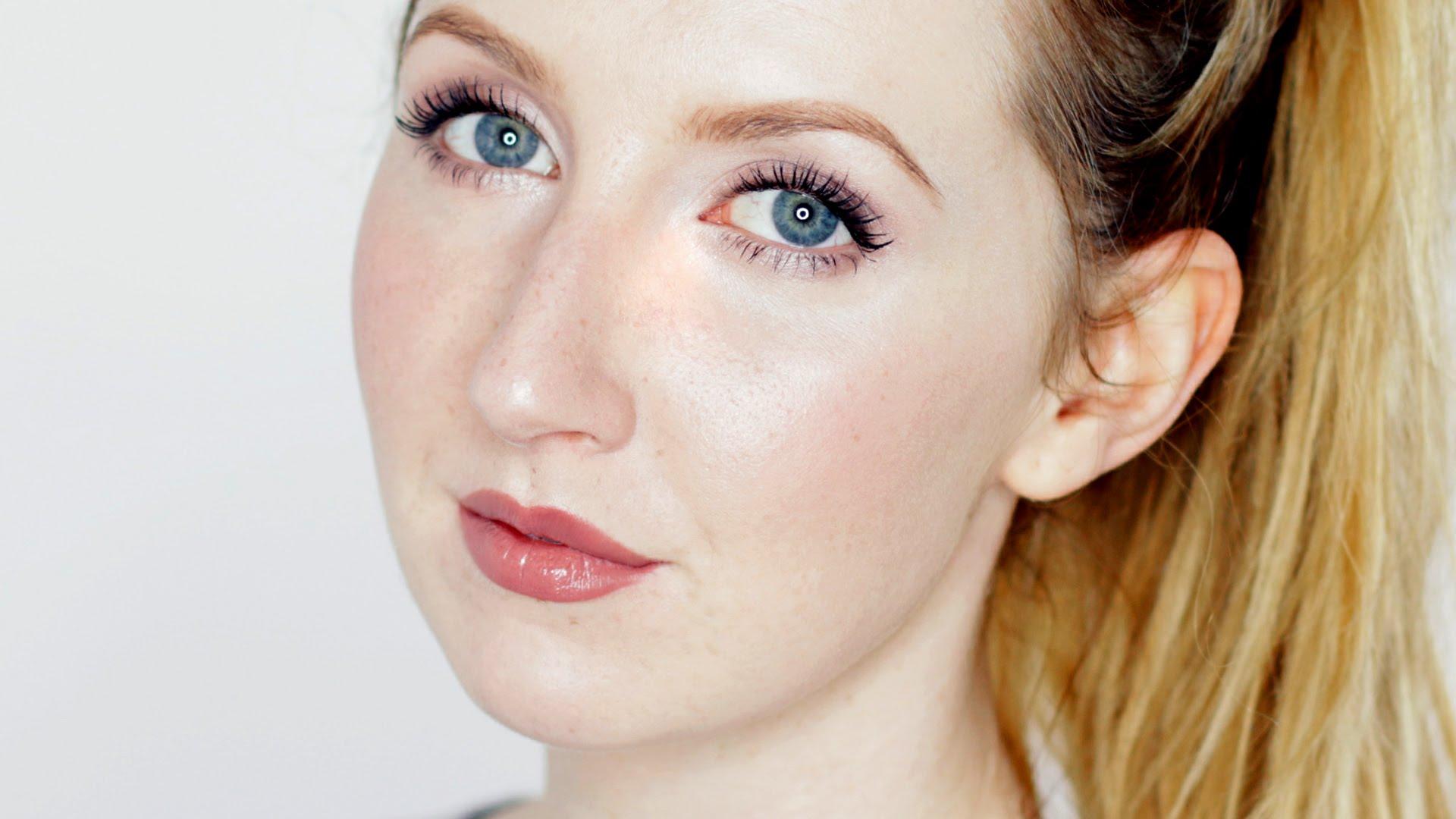 atural Makeup Look For Fair Skin | Pale Skin Beauty Photos Makeup Tutorial for FAIR SKIN / Contouring, Nude Lips, Bronze Eyes