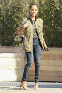 Jada Pinkett Smith celebrity street fashion