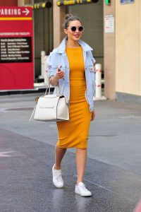 Olivia Culpo Trendy Outfit