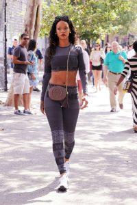 Rihanna Casual Street Style