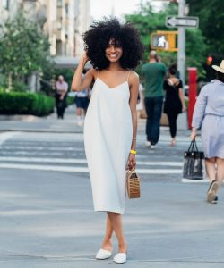 Solange celebrity street fashion