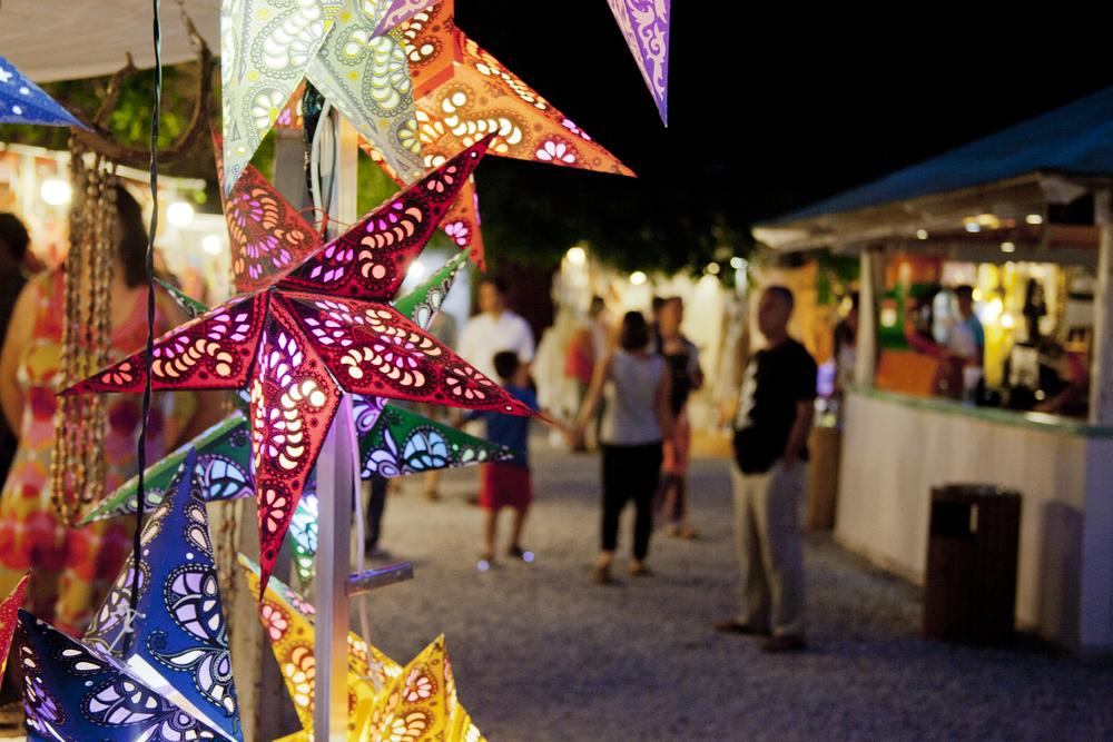Las Dalias Market in San Carlos Playa d'en bossa, bohemian market Ibiza, what to do in ibiza