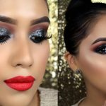 makeup tutorial, Christmas makeup ideas, New Year party, makeup ideas