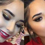 easy holiday makeup looks makeup tutorial, Christmas makeup ideas, New Year party, makeup ideas