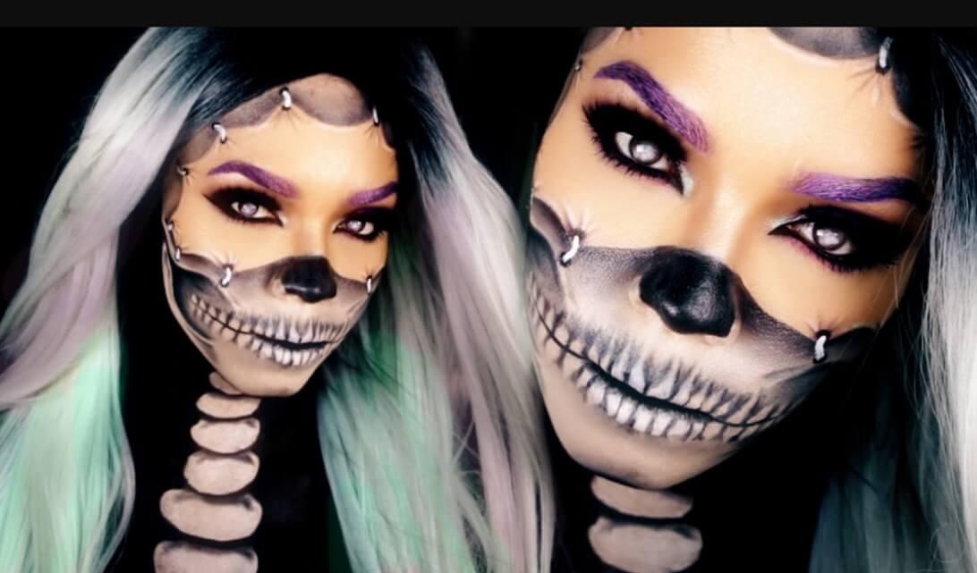 Halloween Makeup Ideas 2019 Scary.Halloween Makeup Looks Best 100 Easy Pretty Scary Creepy