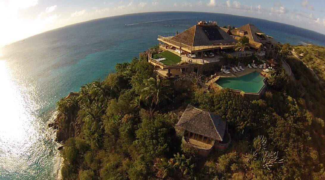 A Bird View Of The Necker Sui