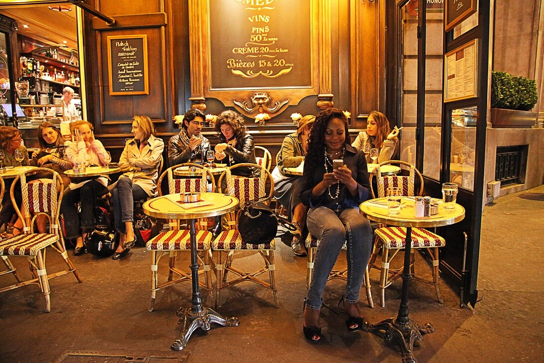 Cafe De La Comedie Paris France