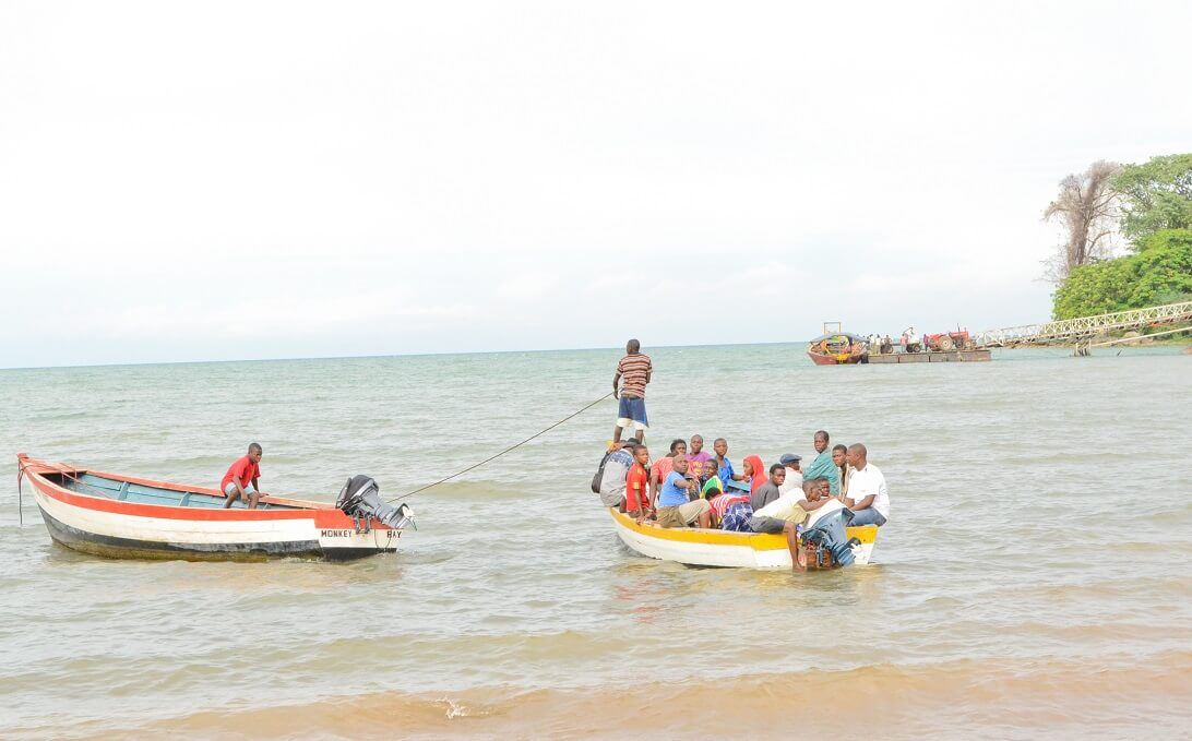 Fishing in Lake Malawi