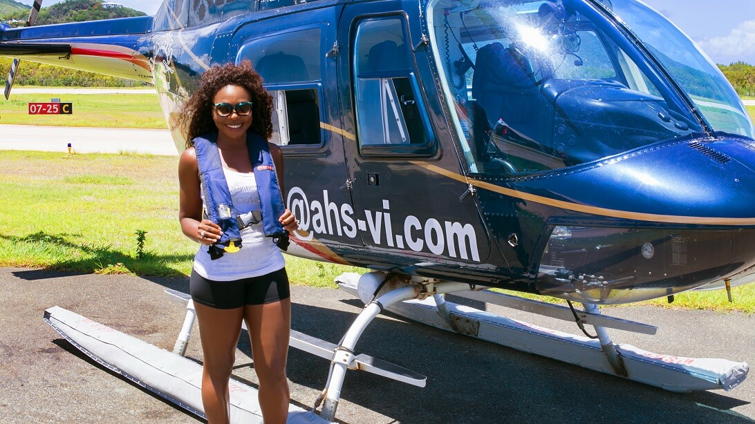 Helicopter Tours British Virgin Islands edition