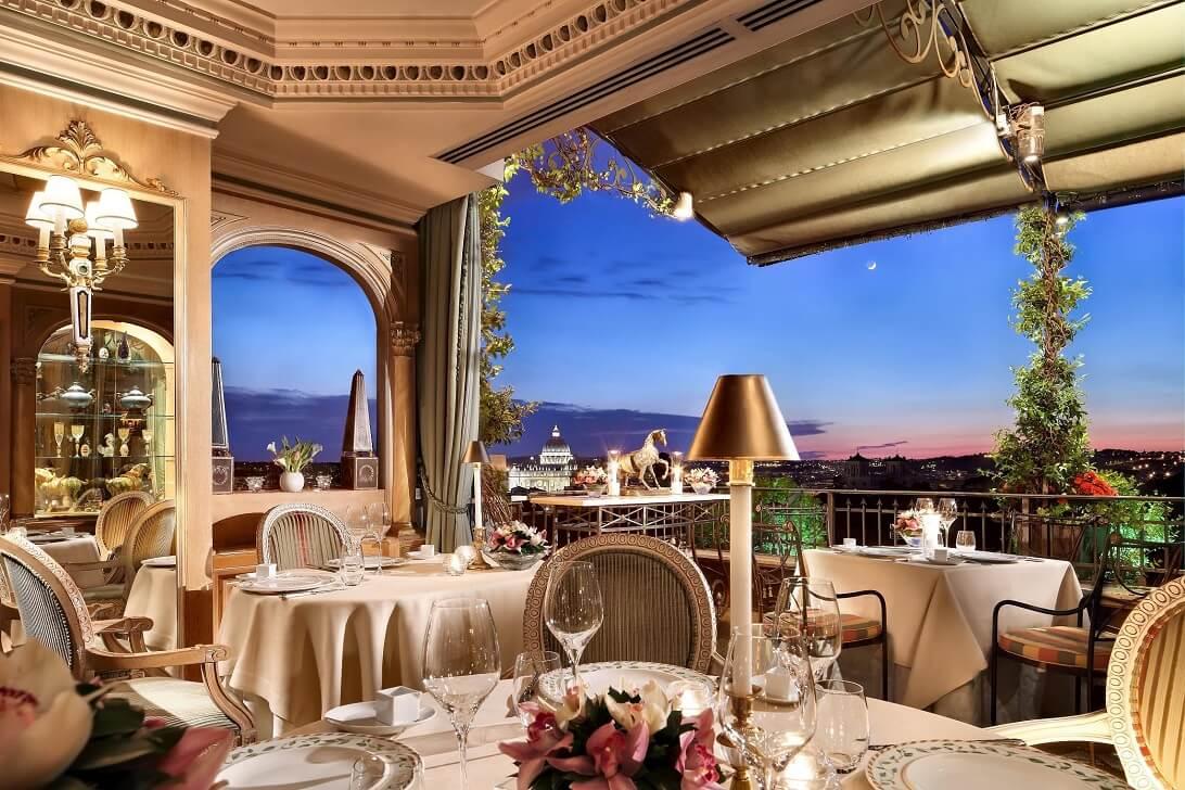Mirabelle restaurant Rome