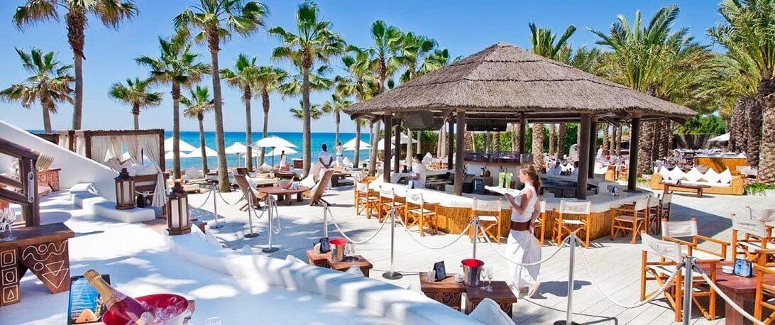 Nikki Beach Lounge Area