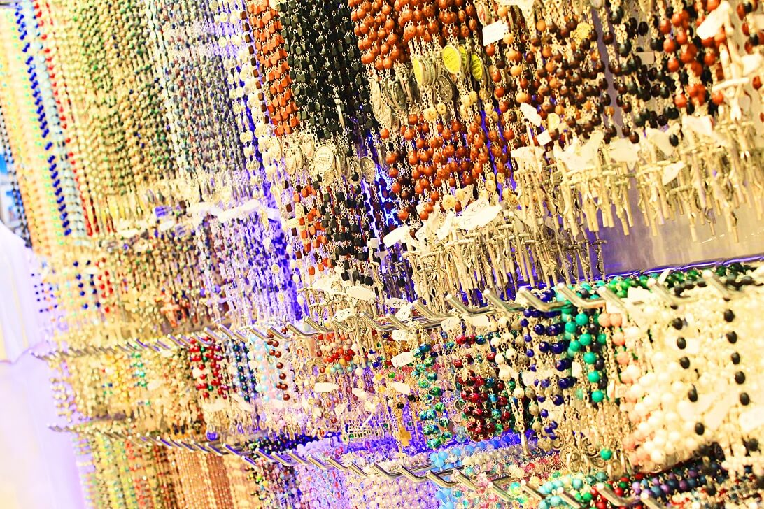 Rosaries At Vatican Gift Shop Center