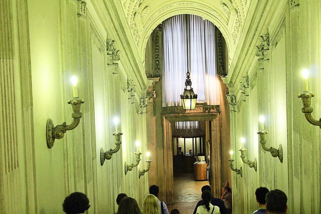 Sistine Chapel Rome Entrance