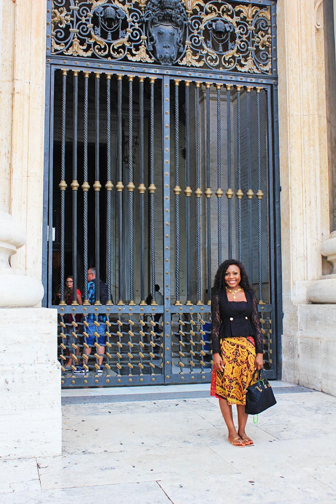 Vatican City Basilica Di San Pietro Gate