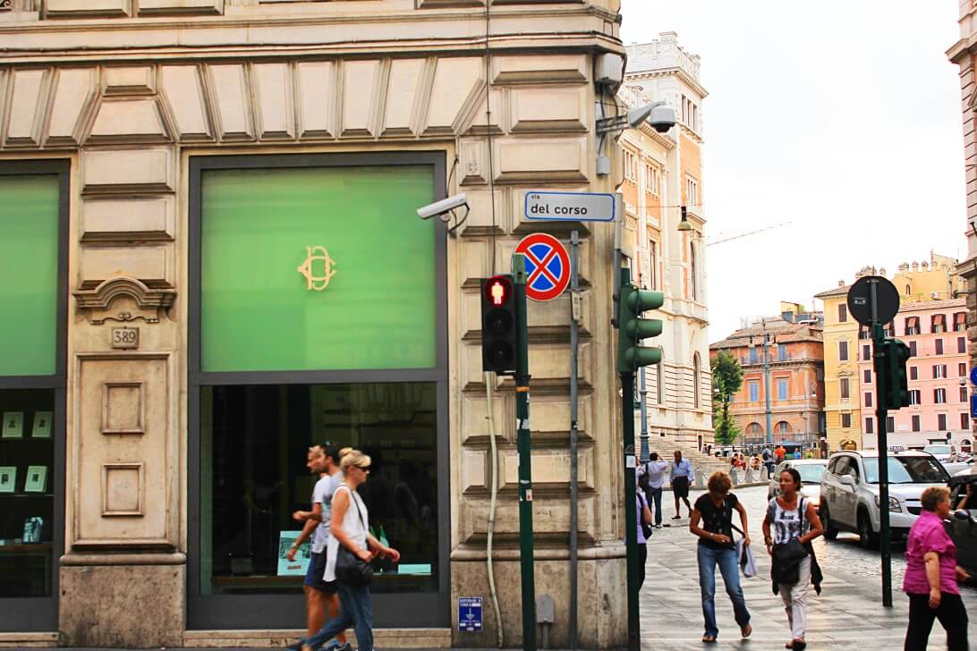 Via Del Corso Street