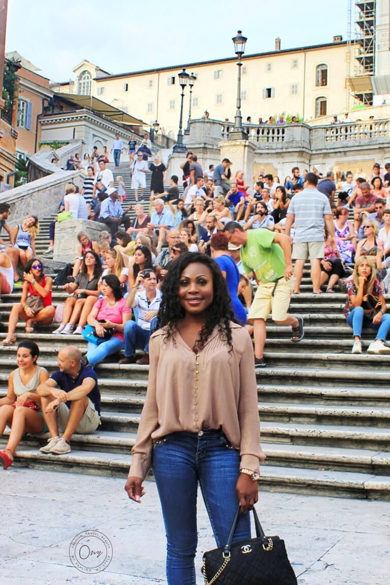 Visiting Spanish Steps Rome Italy Travel