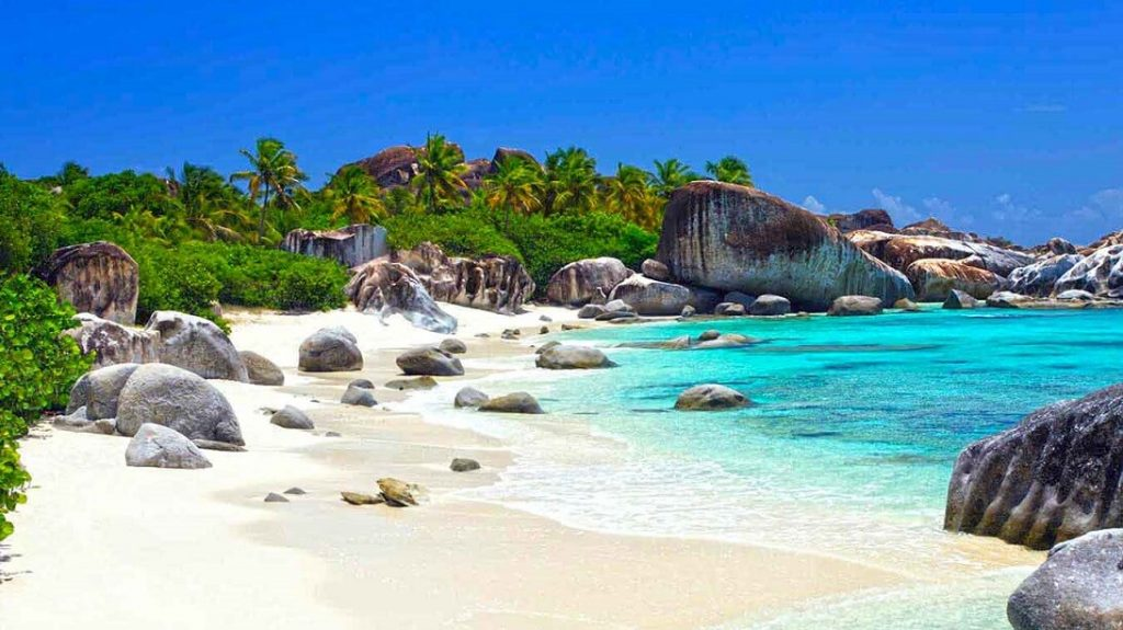 Visiting The Baths BVI Virgin Gorda Beach