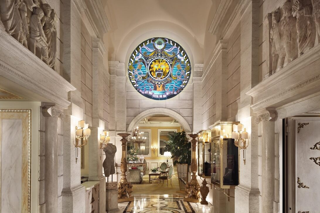 Hotel Splendid Royal Rome Review   Entrance
