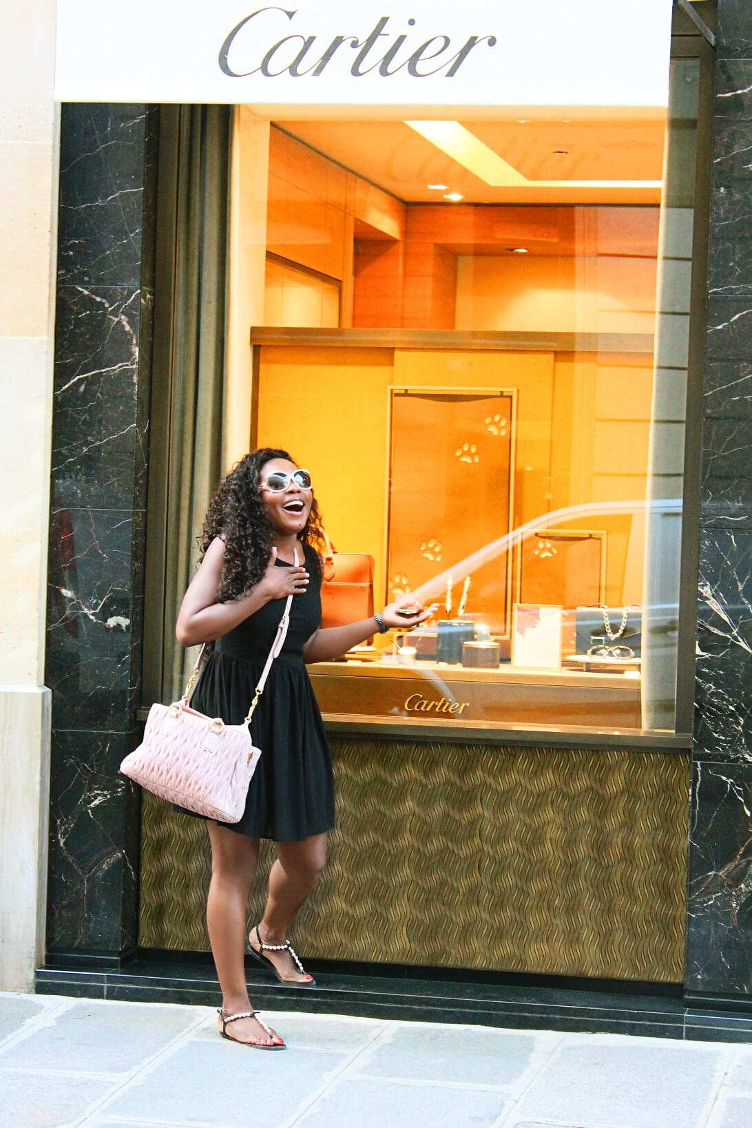 Shopping In France Window Cartier