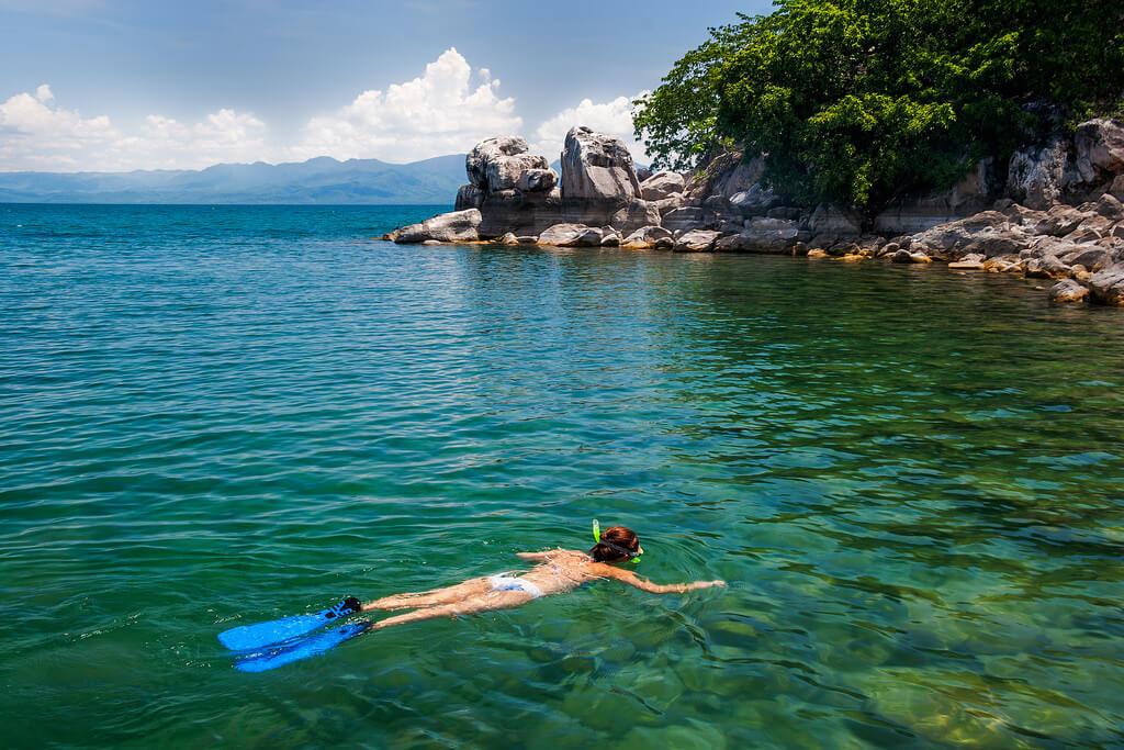 Snorkeling Lake Malawi