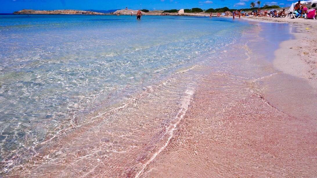 Pink Beaches, Formentera, Spain