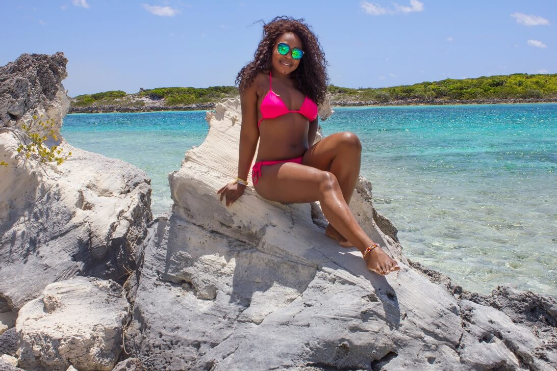 Exuma Bahamas Iguana Island