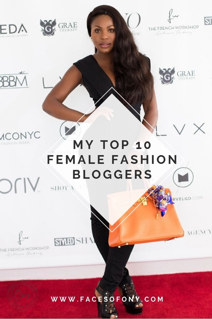 Top 10 Female Fashion Bloggers | Female Black Fashion Blogger