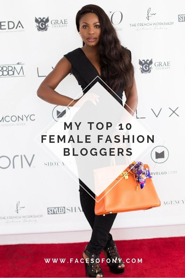 Top 10 Female Fashion Bloggers | Female Black Fashion Blogger