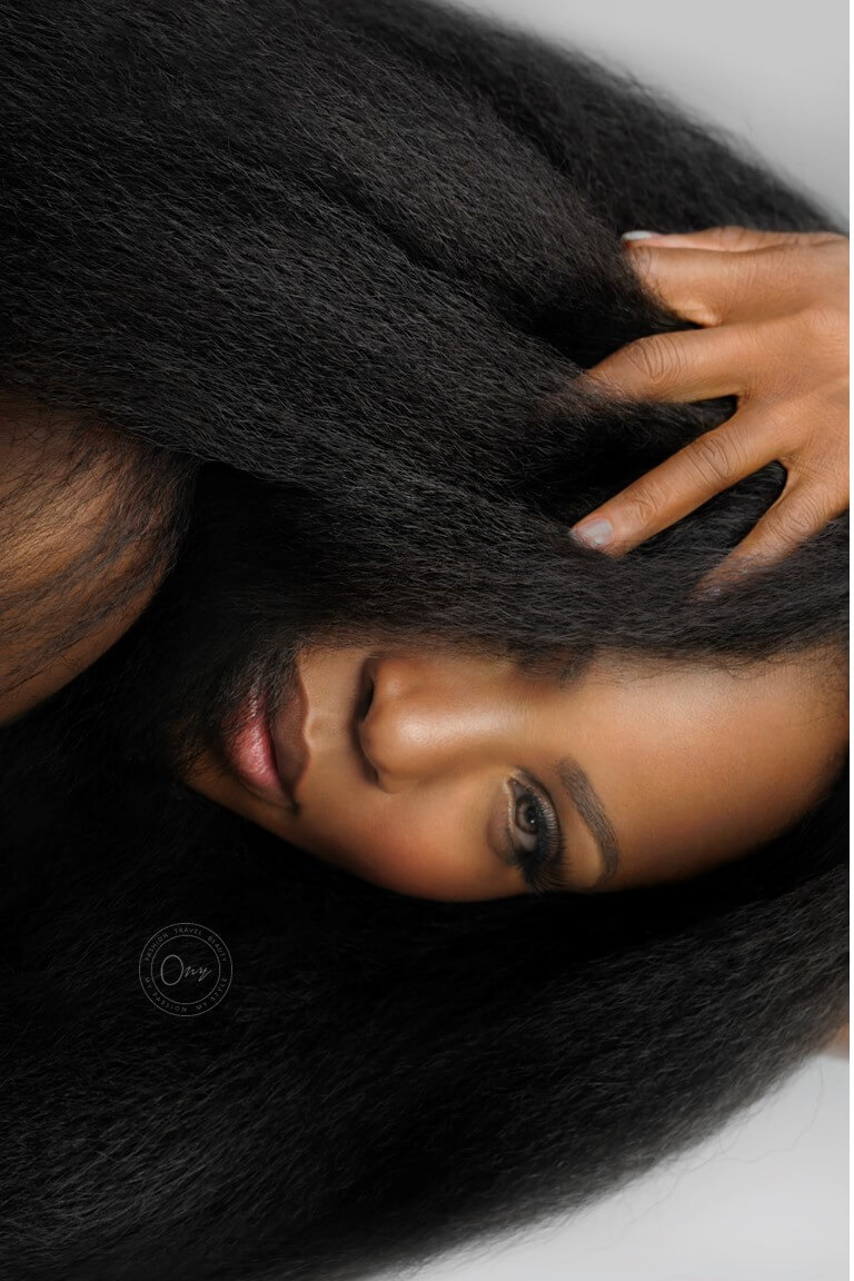 Fro Out Kinky Straight Hair Look Book ONYC Hair