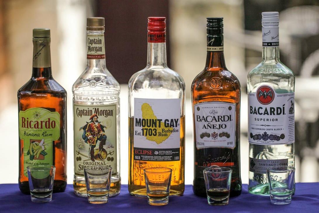 Nassau Bahamas Rum Tasting